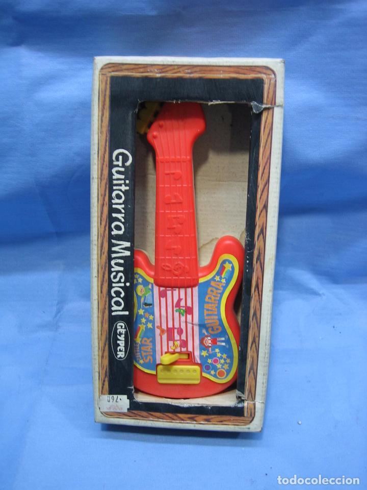 Juegos antiguos: 19 guitarra musical de Jeyper. No jugada - Foto 2 - 71727387