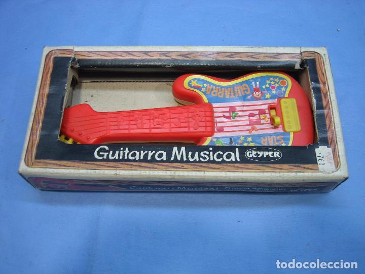 Juegos antiguos: 19 guitarra musical de Jeyper. No jugada - Foto 3 - 71727387
