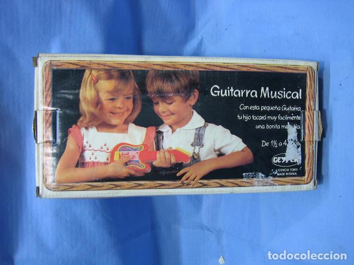 Juegos antiguos: 19 guitarra musical de Jeyper. No jugada - Foto 4 - 71727387