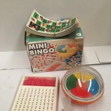 Juegos antiguos: MINI BINGO AÑOS 70. Lote 186334175
