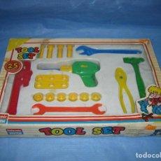Juegos antiguos: JUGUETE INFANTIL TOOL SET DE FOLOMIR.SIN JUGAR. Lote 71809887
