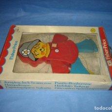 Juegos antiguos: JUGUETE INFANTIL SALTARÍN DE FISHER PRINCE.SIN JUGAR. Lote 71810039