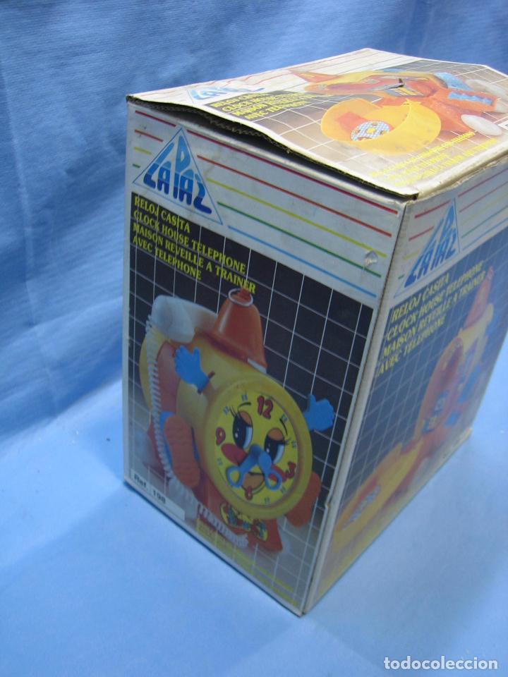 Juegos antiguos: B. Juguete reloj casita de La Paz. No jugado - Foto 9 - 72078171