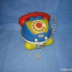 Juegos antiguos: 24 TELEFONO DE JUGUETES LA PAZ. SUCIO DE ALMACENAJE . Lote 72705591