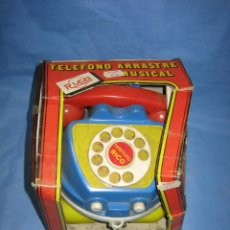 Juegos antiguos: 24 TELEFONO DE JUGUETES LA PAZ. SUCIO DE ALMACENAJE . NO JUGADO. Lote 72705663