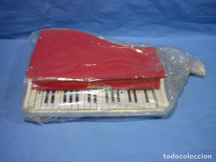Juegos antiguos: 23 piano de madera juguetes Santa Ana N 163 años 70 o 80. Sucio de almacenaje . No jugado - Foto 3 - 72708347