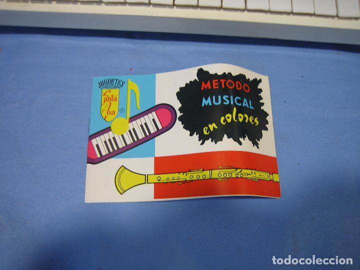 Juegos antiguos: 23 piano de madera juguetes Santa Ana N 163 años 70 o 80. Sucio de almacenaje . No jugado - Foto 5 - 72708347
