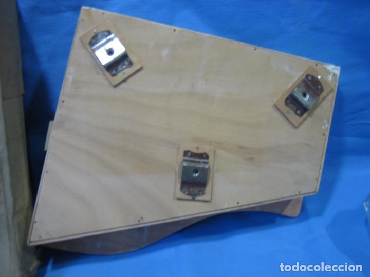 Juegos antiguos: 23 piano de madera juguetes Santa Ana N 163 años 70 o 80. Sucio de almacenaje . No jugado - Foto 8 - 72708347