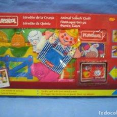 Juegos antiguos: JUEGO INFANTIL EDREDÓN DE GRANJA DE PLAYSKOOL. NO JUGADO ANTES. Lote 72900715