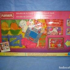 Juegos antiguos: JUEGO INFANTIL EDREDÓN DE GRANJA DE PLAYSKOOL. NO JUGADO ANTES. Lote 72900887
