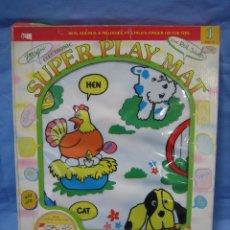 Juegos antiguos: JUEGO INFANTIL SÚPER PLAY MAT DE PLAYSKOOL. NO JUGADO ANTES. Lote 72901103