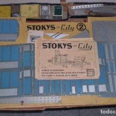 Juegos antiguos: ANTIGUO JUEGO DE CONSTRUCCION. STOKYS CITY 2. MUY COMPLETO. EL DE LA FOTOS. VER. Lote 73753015