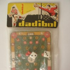 Juegos antiguos: DADIBOL FUTBOLÍN , FABRICACIÓN ESPAÑOLA AÑOS 50 - 60 - BOLSA CERRADA. Lote 65747185