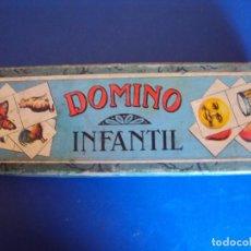 Juegos antiguos: (JU-170232)DOMINO INFANTIL DE FUTBÓL DE ENRIQUE BORRAS MATARÓ, PIEZAS DE MADERA (COMPLETO 28 PIEZAS). Lote 75483823