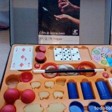 Juegos antiguos: JUEGO MAGIA BORRAS. CON MANUAL DE INSTRUCCIONES CON 70 TRUCOS. Lote 75722127