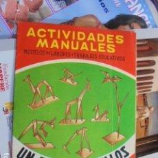 Giochi antichi: MANUALIDADES ACTIVIDADES MANUALES SALVATELLA - UN ZOO DE PALILLOS - Nº 70 - SIN USO. Lote 79945949