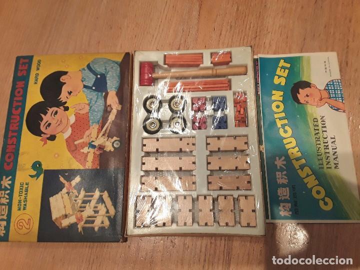 Vintage Anos 60 Construccion Set Made In Chin Comprar Juegos