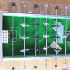 Juegos antiguos: MINI FUTBOLIN DE METAL. Lote 81705120
