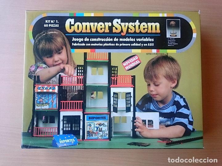 CONVER SYSTEM KIT Nº 1 - 60 PIEZAS - NUEVO PRECINTADO (Juguetes - Juegos - Otros)