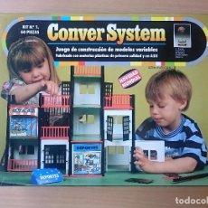 Juegos antiguos: CONVER SYSTEM KIT Nº 1 - 60 PIEZAS - NUEVO PRECINTADO. Lote 178045274