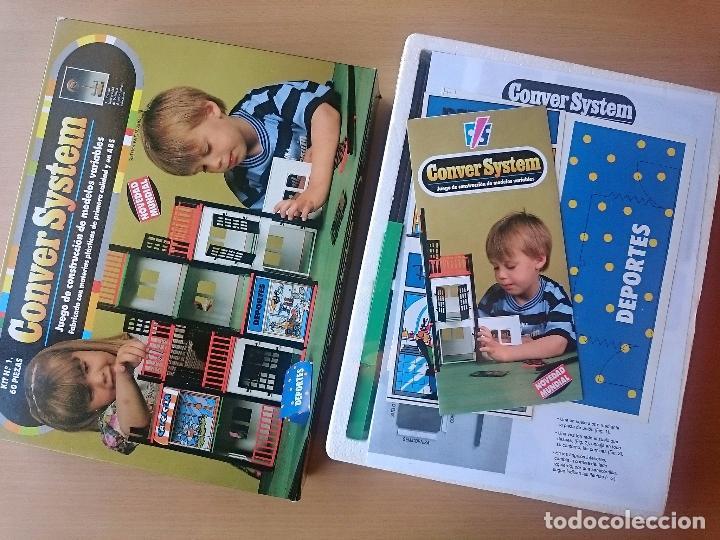 Juegos antiguos: CONVER SYSTEM KIT Nº 1 - 60 PIEZAS - NUEVO PRECINTADO - Foto 2 - 178045274