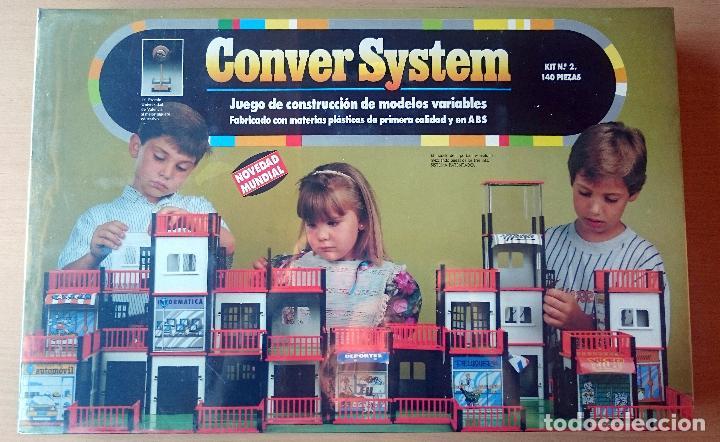 CONVER SYSTEM KIT Nº 2 - 140 PIEZAS - NUEVO PRECINTADO (Juguetes - Juegos - Otros)