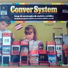 Juegos antiguos: CONVER SYSTEM KIT Nº 2 - 140 PIEZAS - NUEVO PRECINTADO. Lote 176900053