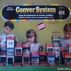Juegos antiguos: CONVER SYSTEM KIT Nº 3 - 288 PIEZAS - NUEVO PRECINTADO. Lote 178045209