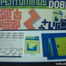 Juegos antiguos: PENTOMINOS DOBLE. CON CAJA Y COMPLETO. SIN USAR. JUEGOS CAYRO. Lote 81893660