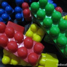 Juegos antiguos: LOTE 17 PIEZAS KIM BLOC MINILAND. Lote 82054652