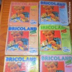 Juegos antiguos: BRICOLAND MINI - COLECCION COMPLETA MODELOS COLECCIONABLES OBSEQUIO DE YOGURES CHAMBURCY NESTLE. Lote 82390908