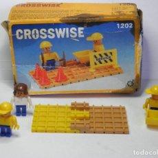Juegos antiguos: JUEGO DE CONSTRUCCION CROSSWISE. Lote 83516168