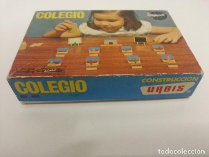 Juegos antiguos: Colegio ref 600 juguetes Goula de contrucciones Urbis - Foto 3 - 86591924