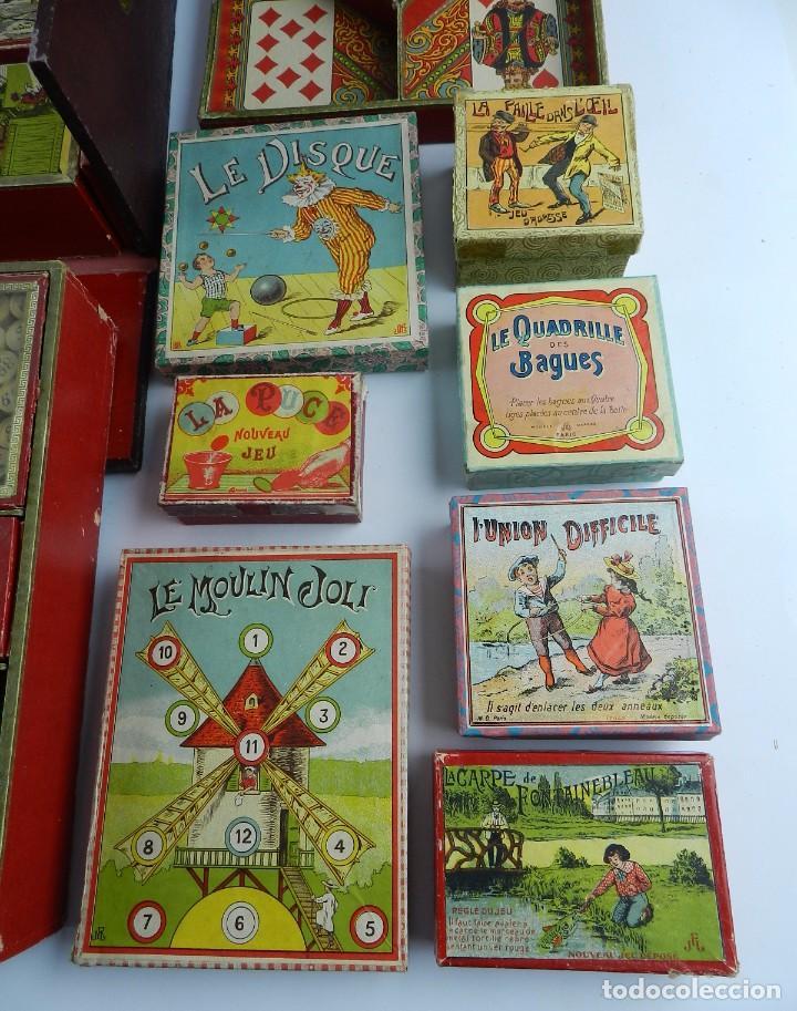 Caja Siglo Xix Con Juegos De Magia Prestidigi Comprar Juegos