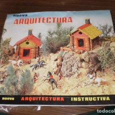Juegos antiguos: NOVEDAD EN TC , ARQUITECTURA INSTRUCTIVA , JUPDOSA ( ESPAÑA , AÑOS 60 ) COMPLETO , CON ALGÚN DEFECTO. Lote 88818576