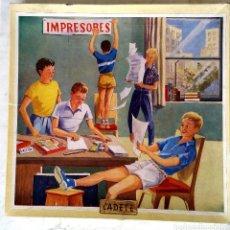 Juegos antiguos: IMPRENTILLA INFANTIL IMPRESORES - CADETE AÑOS 50 PRACTICAMENTE NUEVA. Lote 89104744