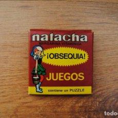 Juegos antiguos: ANTIGUO JUEGO 1974 OBSEQUIO MARGARINA NATACHA - PUZZLE. Lote 89140128