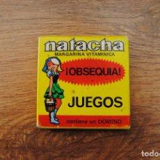 Juegos antiguos: ANTIGUO JUEGO 1974 OBSEQUIO MARGARINA NATACHA - DOMINO. Lote 89140668