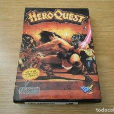 Juegos antiguos: VIDEOJUEGO - HEROQUEST - CPC AMSTRAD DISCO - GREMLIN - DRO SOFT - SOFTWARE TRADUCIDO AL CASTELLANO. Lote 89270588