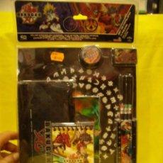 Juegos antiguos: BAKUGAN SET ESCOLAR. NUEVO SIN ABRIR.. Lote 89387800