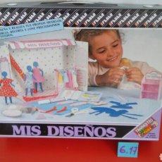 Juegos antiguos: MIS DISEÑOS TRABAJITOS FEBER 80S.NUEVO EN CAJA SIN ABRIR.. Lote 133675399
