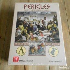 Juegos antiguos: JUEGO WARGAME PERICLES - THE PELOPONNESIAN WARS - GMT GAMES - PRECINTADO. Lote 90648135