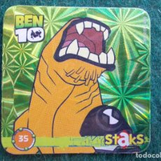 Juegos antiguos: STAKS BEN 10 Nº 35. Lote 90719685