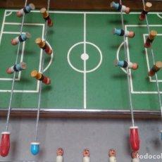 Juegos antiguos: ANTIGUO FUTBOLÍN DE MADERA. Lote 90806950