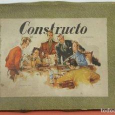 Juegos antiguos: MAQUETA DE BARCO. MARCA CONSTRUCTO. MODELO A. BARCO NORMANDO SIGLO XII. 1950.. Lote 118853686