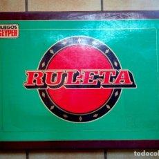 Juegos antiguos: JUEGO DE MESA RULETA GEYPER. Lote 92431630