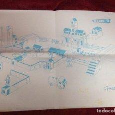 Juegos antiguos: IMAGEN DE MONTAJE URBIS 5 GOULA . Lote 95090539