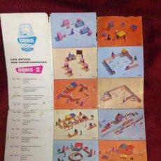 Juegos antiguos: PUBLICIDAD JUGUETES GOULA URBIS MUÑECOS,CONSTRUCCION. Lote 95126491