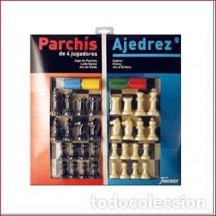 PARCHIS DE 4 JUGADORES Y AJEDREZ , TODO NUEVO Y PRECINTADO ,, FOURNIER (Juguetes - Juegos - Otros)