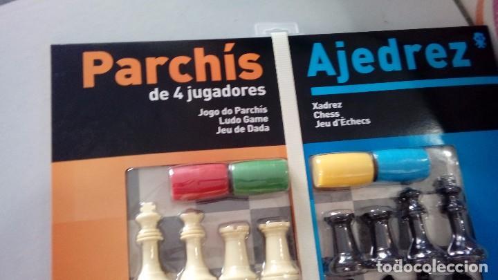 Juegos antiguos: Parchis de 4 jugadores y ajedrez , todo nuevo y precintado ,, Fournier - Foto 3 - 103969182